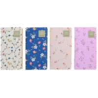 4pcs Retro Flower Notebooks Notepad Student Stationery Office Supplies(2)