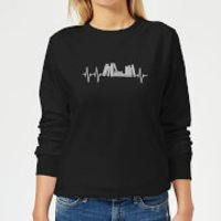 Heartbeat Books Women's Sweatshirt - Black - 5XL - Black